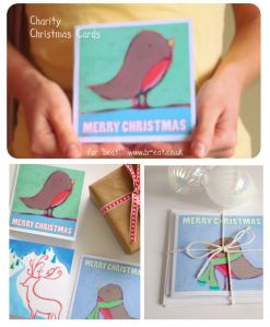 Charity Christmas Cards for B-eat! Available Monday!